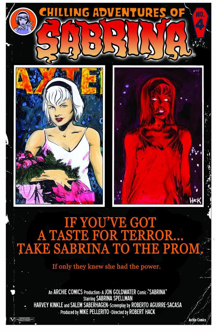 SABRINA #4 Variant Cover by RobertHack