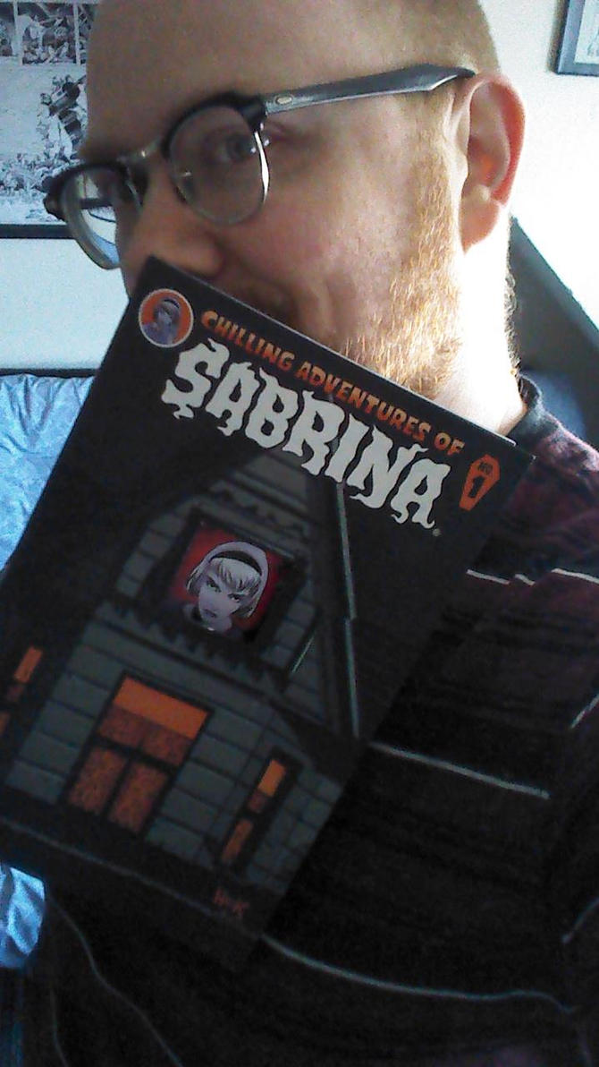 Sabrina #1- fresh from the printer! by RobertHack
