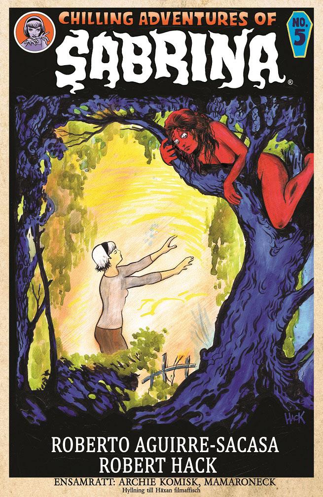 SABRINA #5 Variant Cover by RobertHack