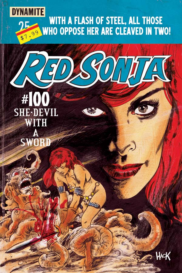Red Sonja #100  Variant Cover by RobertHack