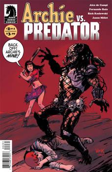 Archie VS Predator 2 Variant Cover