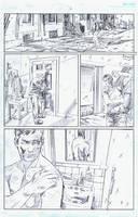 BlackHood #8 Page 12 Pencils by RobertHack