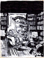 MODOK in Repose. by RobertHack