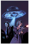 The X-Files Season 11 #8 variant cover