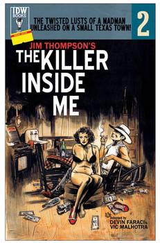 The Killer Inside Me #2 Variant Cover.