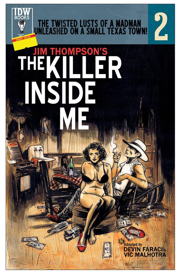 The Killer Inside Me #2 Variant Cover. by RobertHack