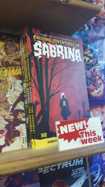 SABRINA BOOK 1 -IN STORES NOW! by RobertHack