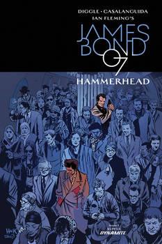 James Bond: Hammerhead #1 variant cover