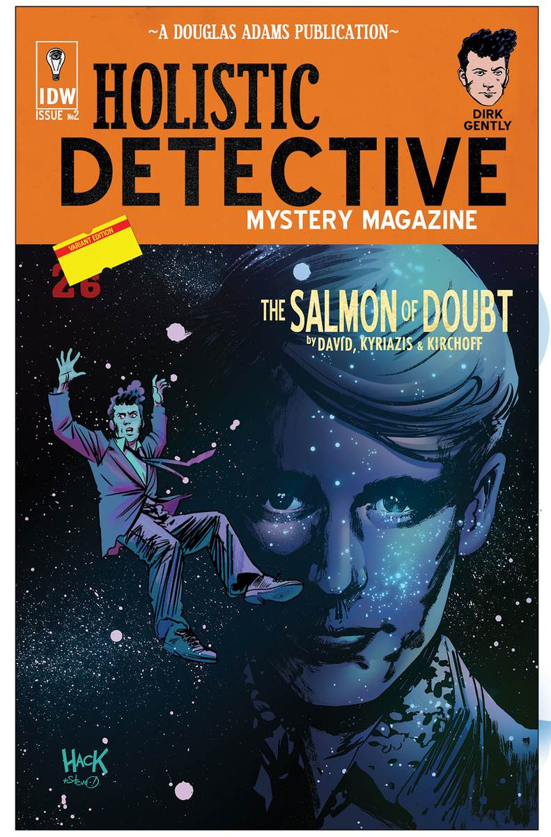 Dirk Gently: The Salmon Of Doubt #2 Cover By Roberthack