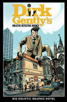 Dirk Gently ' Big Holistic Graphic Novel cover by RobertHack