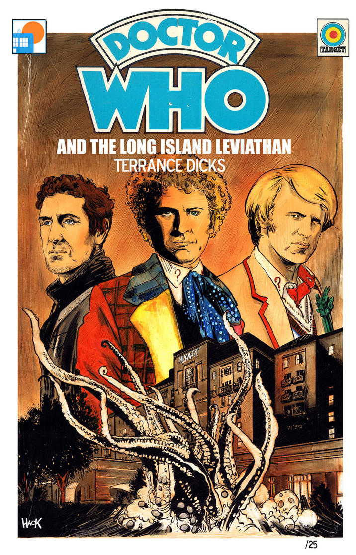LIWHO Doctor Who Print by RobertHack