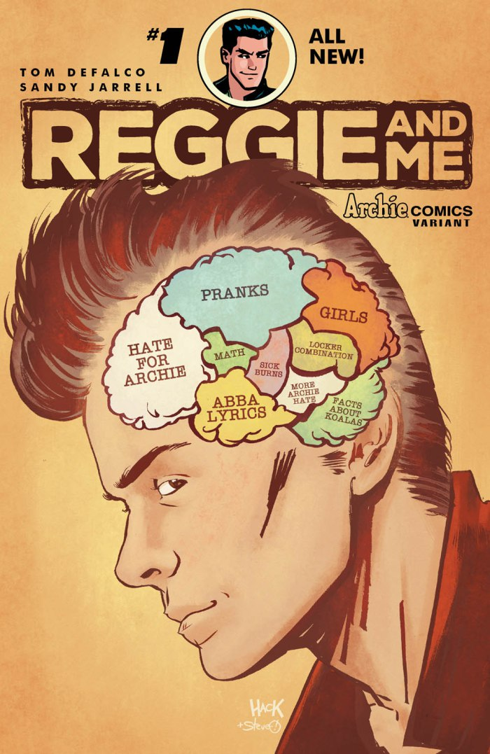Reggie and Me #1 variant cover by RobertHack