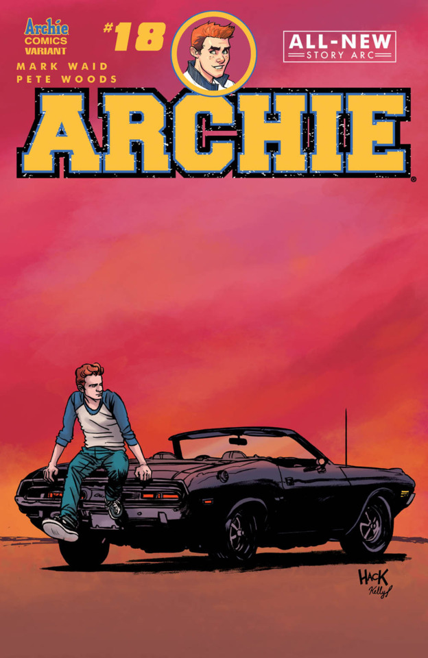 Archie #18 variant cover by RobertHack