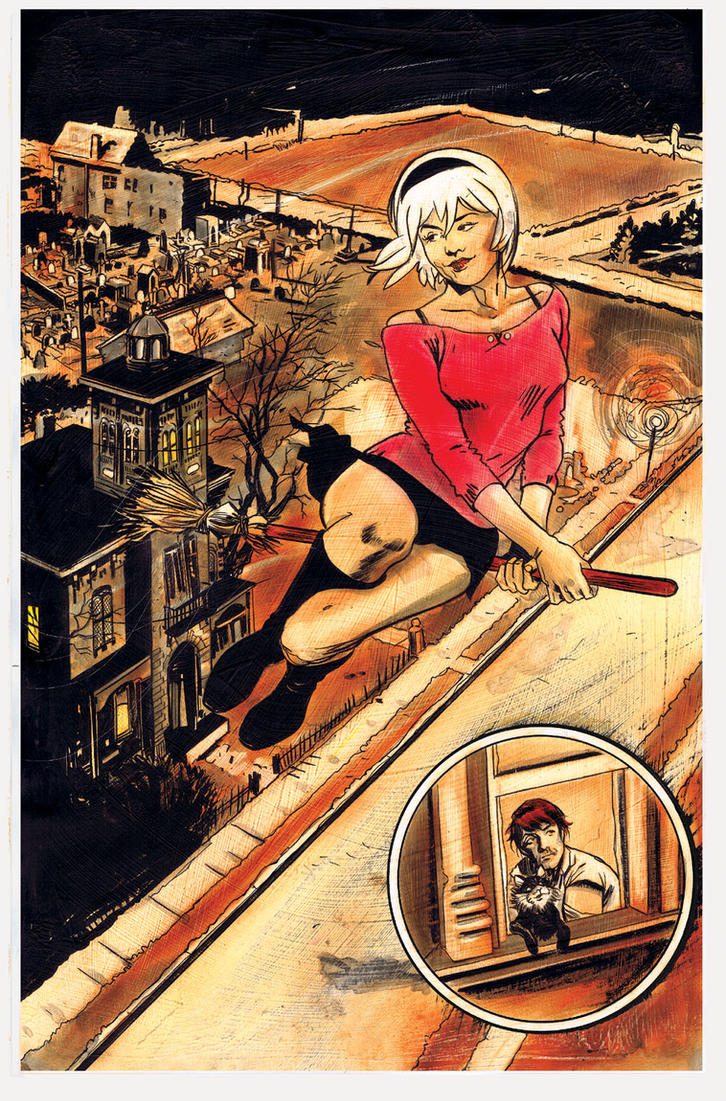 Chilling Adventures Of Sabrina 8 Page 6 By Roberthack On