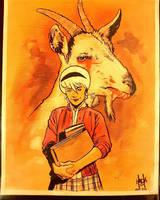 Sabrina: Vote goat by RobertHack