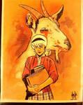 Sabrina: Vote goat