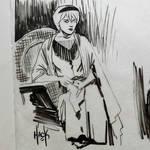Sabrina doodling