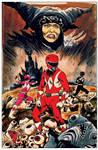 Mighty Morphin Power Rangers Artist Tribute book