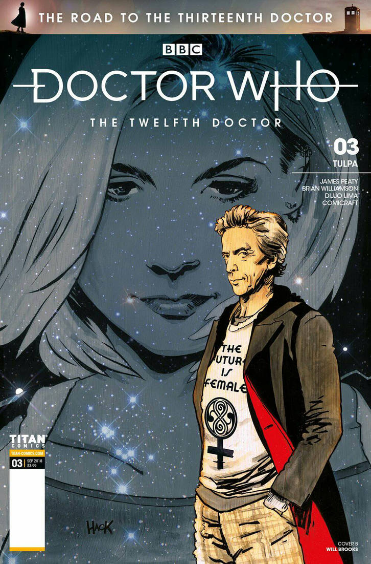 Doctor Who: The Road to the 13th Doctor #3 cover by RobertHack