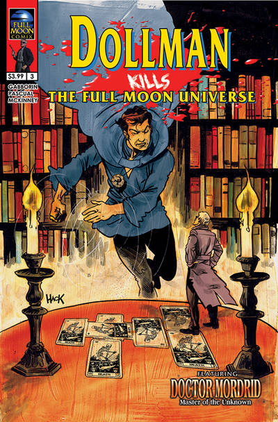Dollman Kills the Full Moon Universe #3 cover by RobertHack