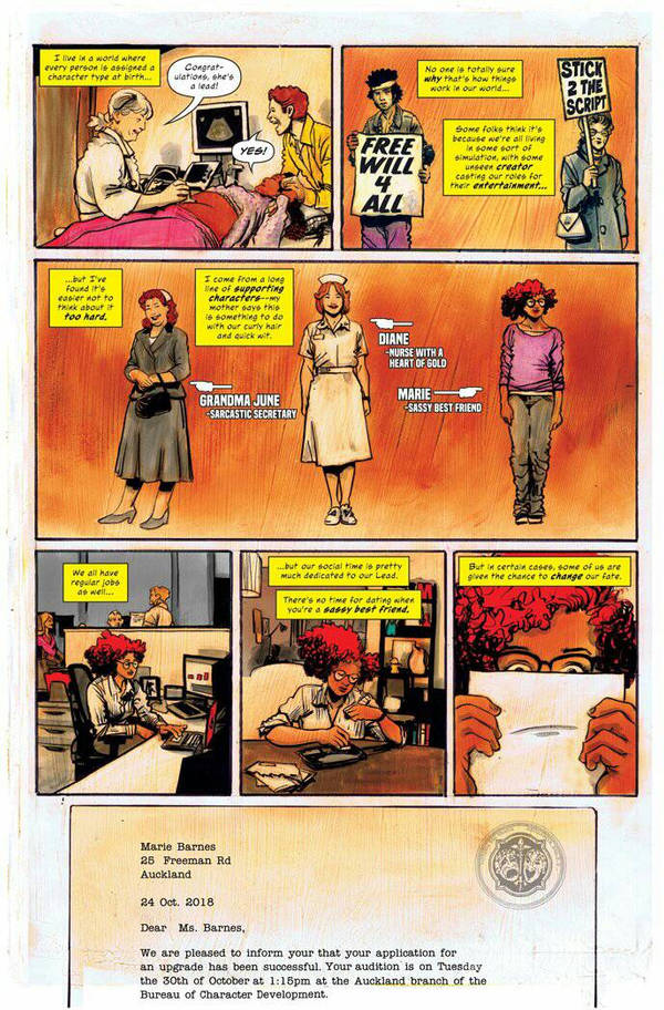 Comics Comics #1 Sassy Best Friend page 2 by RobertHack