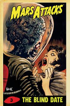 Mars Attacks #3 variant cover