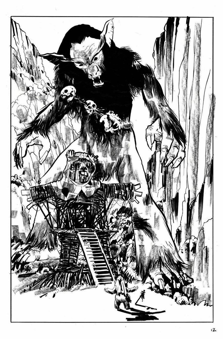 Star Wars: Tales from Vader's Castle #4 Pg.12 by RobertHack