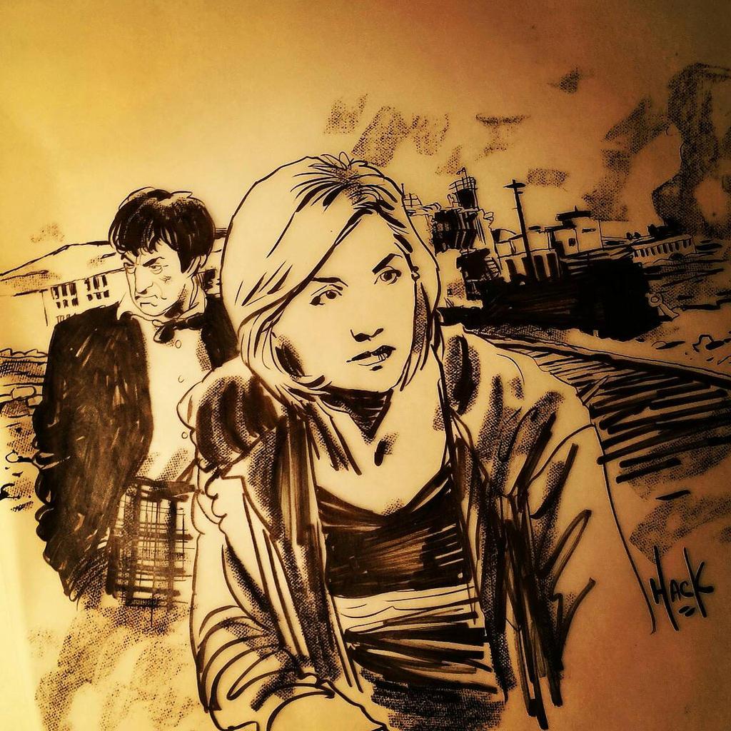 2 Doctors doodle  by RobertHack