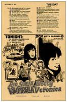 Red Sonja Vampirella meet Betty Veronica #2 cover by RobertHack