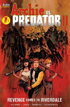 Archie VS Predator II #1  cover