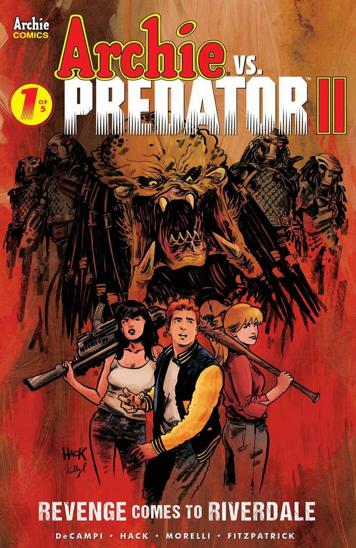 Archie VS Predator II #1  cover by RobertHack