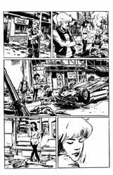 Archie VS Predator 2 #1 page 2 inks