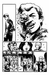 Archie VS Predator 2 #2 page 6 inks