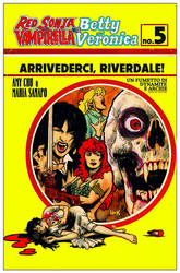 Red Sonja, Vampirella, Betty, Veronica #5 cover