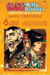 Red Sonja, Vampirella, Betty, Veronica #6 cover