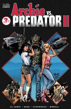 Archie VS Predator II #3 Cover