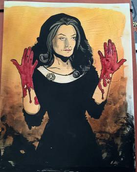 Madam Satan NYC sketch