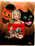 Trick or treat Chilling Adventures of Sabrina