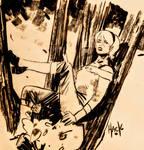 Sabrina Spellman sittin'in a tree...