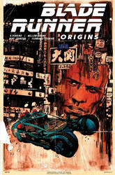 Blade Runner Origins #1 variant cover