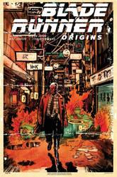 Blade Runner Origins #3 variant cover