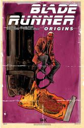 Blade Runner Origins #4 variant cover