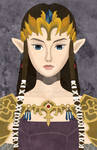 Faux-Paint Zelda