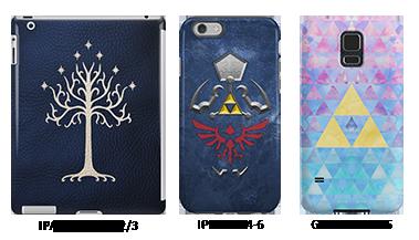 iPad, iPhone, Samsung Galaxy cases