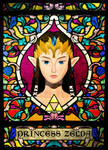 Stained Glass Zelda