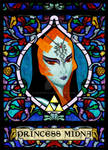 Stained Glass Midna