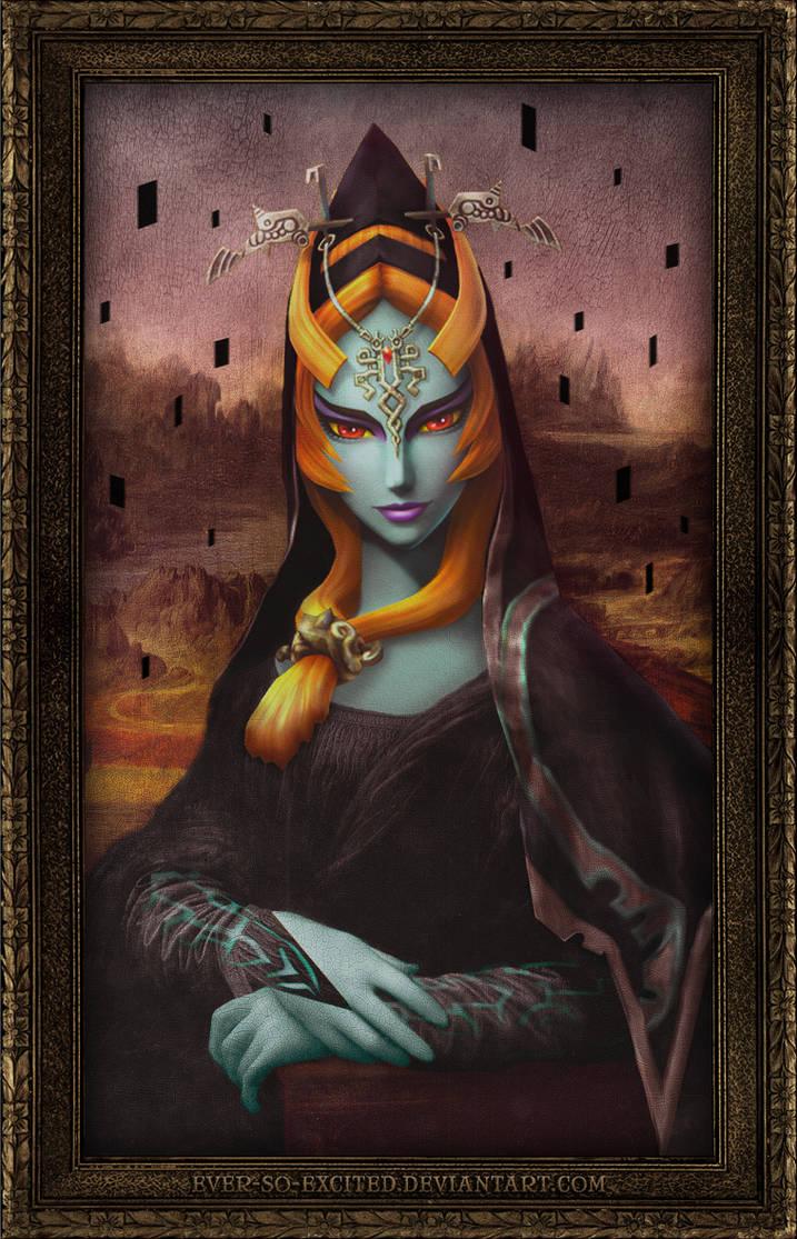 Mona Midna by HaleyHylia