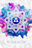 The Legend of a Zelda Mandala by HaleyHylia
