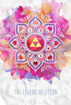 A Legendary Zelda Mandala