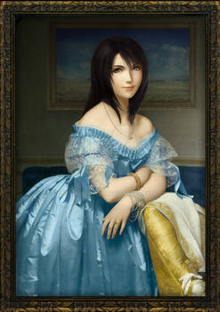 Rinoa, the Lady of Galbadia